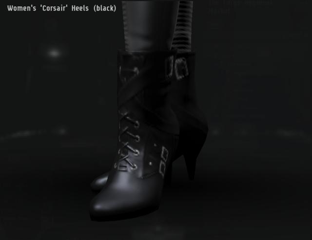 Women's 'Corsair' Heels (black).png