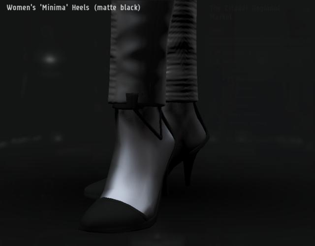 Women's 'Minima' Heels (matte black).png